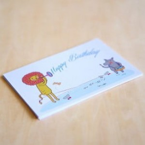'Happy Birthday' Personalised Card