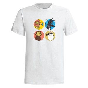 Cats & Friends T-shirt (S)