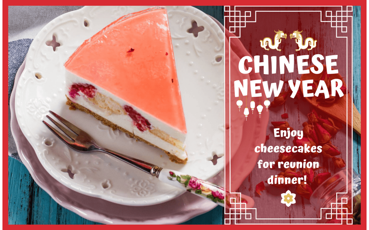 Cheesecakes for Chinese New Year 2020
